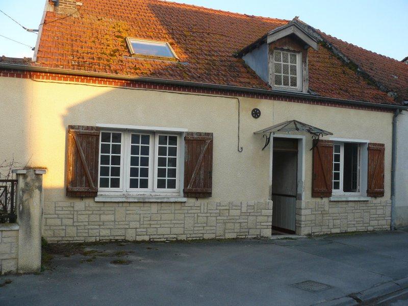 Vente maison de village a renover for Restaurant le jardin 02190 neufchatel sur aisne