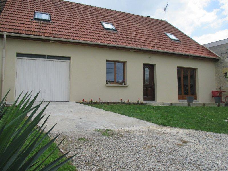 Vente pavillon proche cormicy garage et petite d pendance for Restaurant le jardin 02190 neufchatel sur aisne